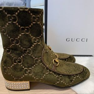 NWT AUTHENTIC GUCCI ANKLE BOOTS